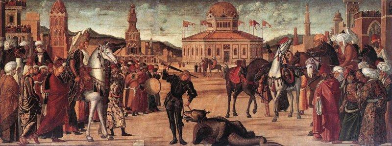 Venezia-Scuola S.Giorgio degli Schiavoni_Trionfo di S.Giorgio