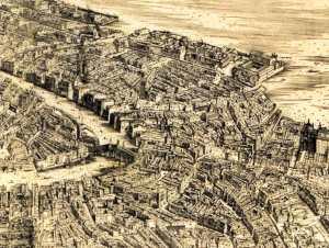 Jacopo de' Barbari, Venezia (dettaglio)
