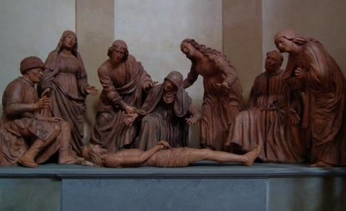 Compianto sul Cristo Morto by Guido Mazzoni (c1450-1518)
